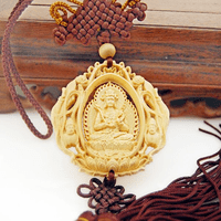 Manjushri Buddha Amulet in Car