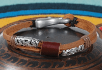 Men's Leather Bracelet - Sold out