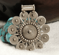 Nepalese Sterling Pendant
