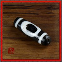 Old Tibetan Heaven & Earth DZI Bead - Sold out