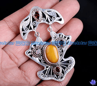 Old Mila Amber Pendant - Sold out