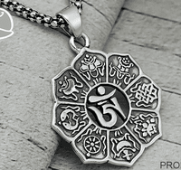 OM Pendant Buddhist Jewelry