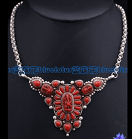 Red Coral Buddha Necklace - Sold Out