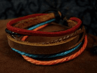 Rustic Leather Bracelet - Sold Out