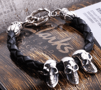 Silver Dragon Chain Bracelet - Sold Out