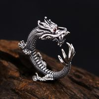 925 Silver Dragon Ring