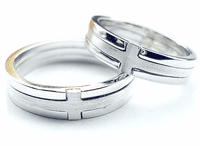 Silver Finger Ring for Lovers
