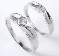 Silver Lover's Ring