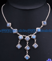 Sterling Moonstone Necklace - Sold Out