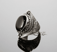 Sterling Onyx Ring