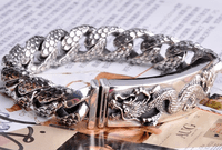 Sterling Silver Dragon Bracelet - Sold Out