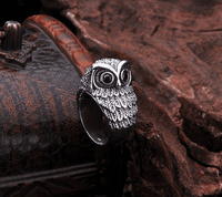 Sterling Silver Ring - Owl