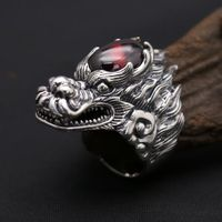 Thai Silver Dragon Ring