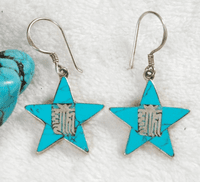 Tibetan Auspicious Symbol Earrings