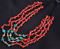 Tibetan Beaded Necklace - Sold out