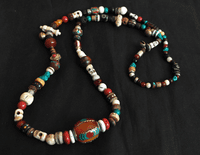 Tibetan Beads Necklace