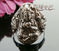 Tibetan Buddha Ring - Green Tara -Sold Out