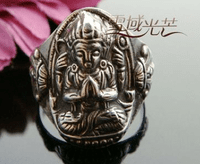 Tibetan Buddha Ring Kuanyin - Sold Out
