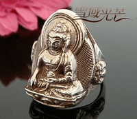 Tibetan Buddha Ring - Sold Out