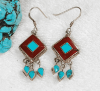 Tibetan Charming Earrings