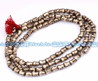 Tibetan Copper Skull 108 Prayer Beads - Sold Out