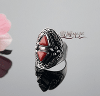 Tibetan Coral Ring - Sold Out