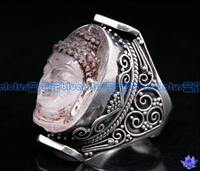 Tibetan Crystal Ring Sakyamuni - Sold Out