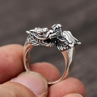 Tibetan Dragon Finger Ring