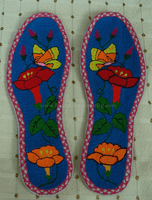 Tibetan Embroidered Isole
