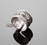 Tibetan Flower Ring - Sold Out
