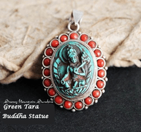 Tibetan Green Tara Pendant - Sold out