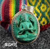 Tibetan Guan-yin Buddha Pendant - Sold out