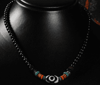 Tibetan Leather Necklace