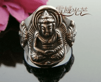 Tibetan Manjusri Buddha Ring - Sold out