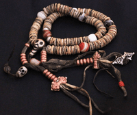 Tibetan Old Kapala 108 Beads Mala - Sold Out