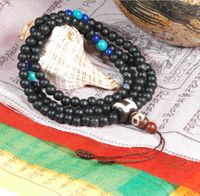 6MM Tibetan Old Onyx 108 Beads Mala - Sold Out