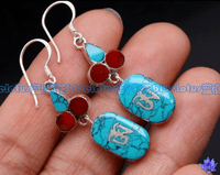 Tibetan OM Earrings - Sold Out