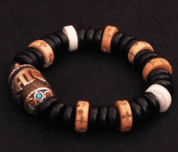 Tibetan OM Mantra Beads Bracelet - Sold out