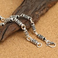 925 Silver Tibetan OM Necklace