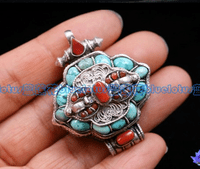 Tibetan Prayer Box Pendant