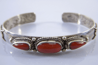 Tibetan Red Coral Bracelet - Sold Out