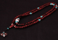 Tibetan Redsandalwood 108 Beads Mala