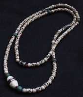 Tibetan Skull Beads Necklace