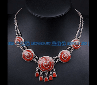 Tibetan Sterling Red Coral Necklace - Sold Out