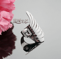 Tibetan Sterling Silver Finger Ring
