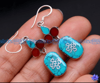 Tibetan Symbols Earrings - Sold out