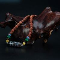Tibetan Old DZI Necklace