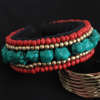 Tibetan Turquoise Beads Bracelet - Sold out