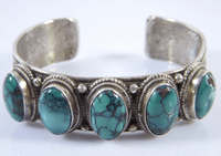 Tibetan Turquoise Bracelet - Sold Out