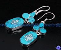 Turquoise Endless Earrings - Sold out